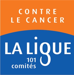 logo de la ligue contre le cancer soutien du centre leon berard