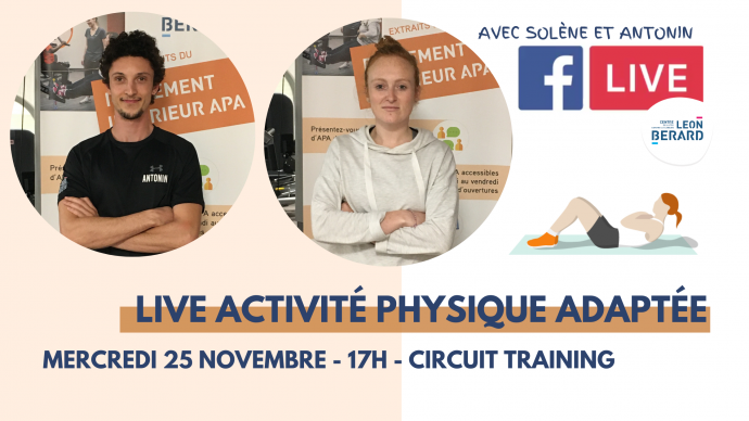 Live activite physique adaptee